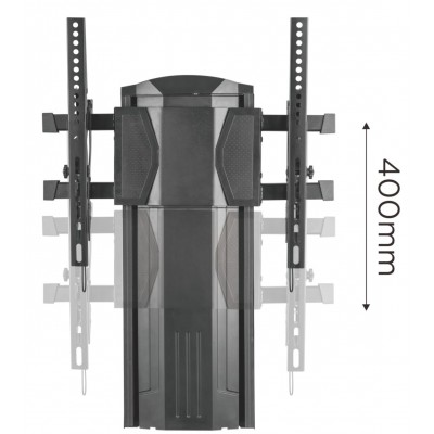 Vertical glide TV wall mount  - Techly - ICA-LCD 146-4