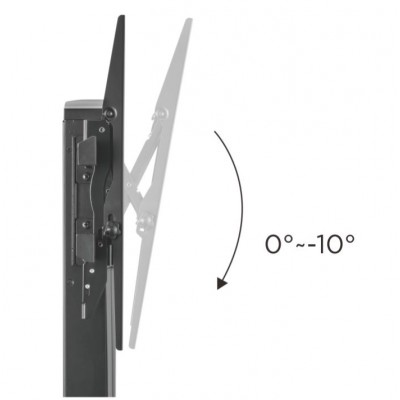 Vertical glide TV wall mount  - Techly - ICA-LCD 146-5