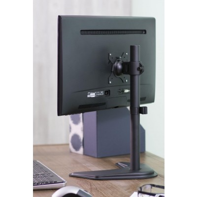 "Desk Stand for 1 Monitor 13 ""-27"" with Base h.465mm - Techly - ICA-LCD 2500-7"