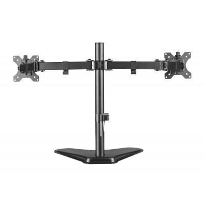 """Double Joint Monitor Arm for 2 Monitors 13-32"""" with base - Techly - ICA-LCD 2524-4"""