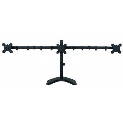 Desk monitor arm for 3 Monitor 13-24\