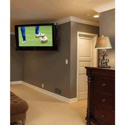 """Wall Mount for TV LCD LED 23-42"""" inclinable 2 black slats - Techly - ICA-LCD 2901E-3"""