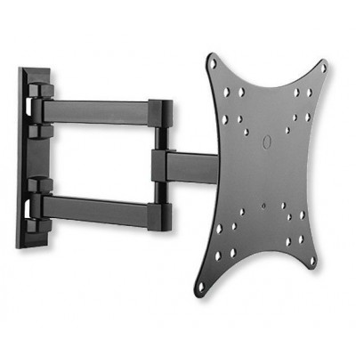 "Wall Mount for TV LCD LED 23-42"" 3 Joints Tilt Black - Techly - ICA-LCD 2923E-0"