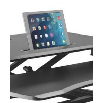 Work station desk sitting/standing posture with gas spring - Techly - ICA-LCD 400-4