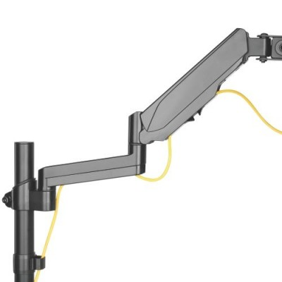 """Gas Spring Monitor Arm 17-32"""", black - Techly - ICA-LCD 516B-5"""