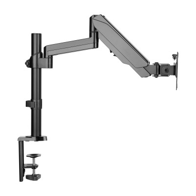 """Gas Spring Monitor Arm 17-32"""", black - Techly - ICA-LCD 516B-4"""