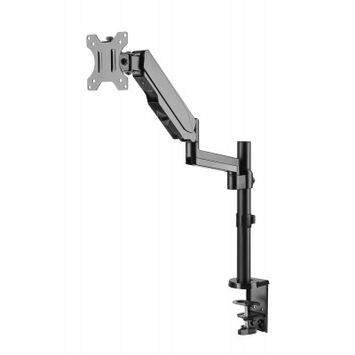 """Gas Spring Monitor Arm 17-32"""", black - Techly - ICA-LCD 516B-2"""