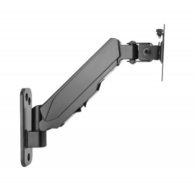"Wall support with gas spring for TV 17-32"" black - Techly - ICA-LCD G111-3"