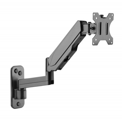 Wall Mounted Gas Spring Monitor Arm - Techly - ICA-LCD G112-1