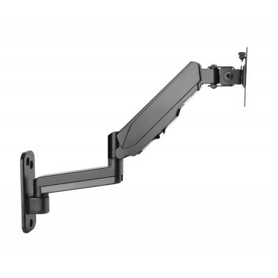 Wall Mounted Gas Spring Monitor Arm - Techly - ICA-LCD G112-3