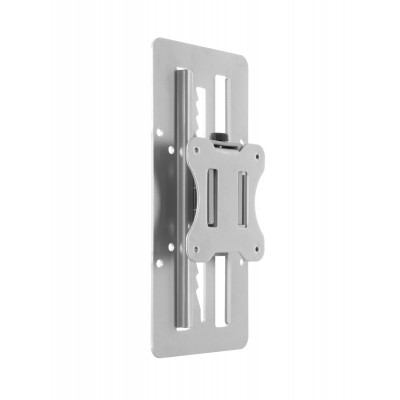 Steel Track-Mounted Monitor Mount for extra 15cm vertical mobility - Techly - ICA-LCD TRACK-1