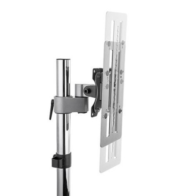 Steel Track-Mounted Monitor Mount for extra 15cm vertical mobility - Techly - ICA-LCD TRACK-2