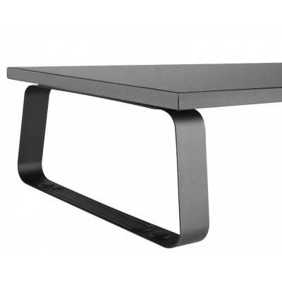 Universal Desk Stand in Steel for Monitor/Laptop - Techly - ICA-MS 600TY-2
