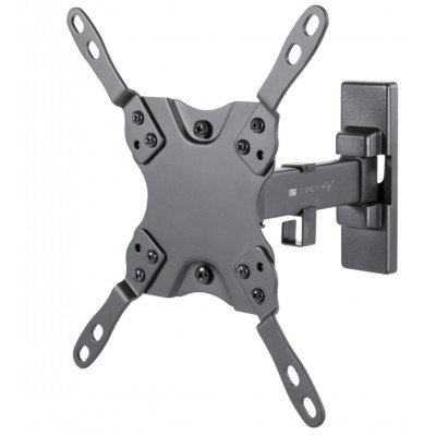 """Full Motion LED-LCD TV 13-42"""" Wall Mount 2 Joints Black - Techly - ICA-PLB 400STY-1"""