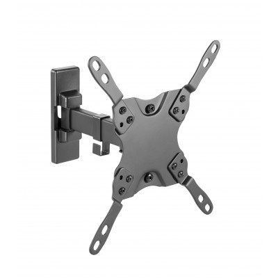 """Full Motion LED-LCD TV 13-42"""" Wall Mount 2 Joints Black - Techly - ICA-PLB 400STY-2"""