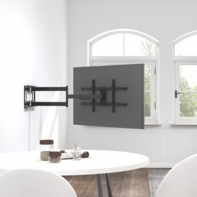 """Wall Bracket Extendable Arm up to 1015 mm for LCD 43-80"""" Black - Techly - ICA-PLB 490-8"""