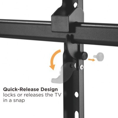 """Wall Bracket Extendable Arm up to 1015 mm for LCD 43-80"""" Black - Techly - ICA-PLB 490-7"""