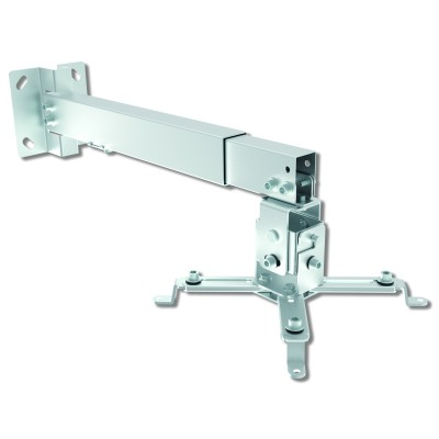 Universal Wall and ceiling projector bracket Silver  - Techly - ICA-PM 16-1