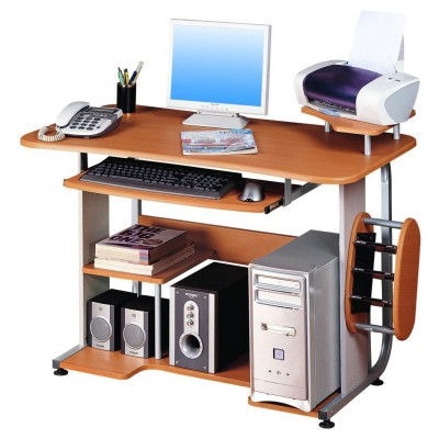 Traditional Computer Desk - Techly - ICA-TB 305-1