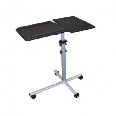 Universal Adjustable Trolley for Notebook Projector, Black - Techly - ICA-TB TPM-2-4