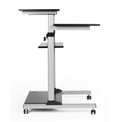 Compact Height-Adjustment Mobile Cart - Techly - ICA-TB TPM-3-13