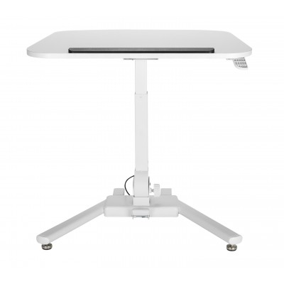 Foldable Height Adjustable Desk White  - Techly - ICA-TB TPM-7-2