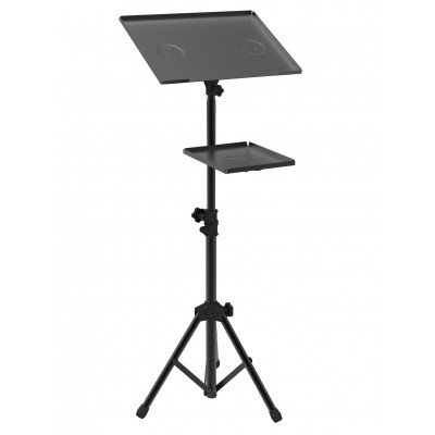 Tripod for Laptops and Projectors with additional Shelf - Techly - ICA-TB TPM-9-0
