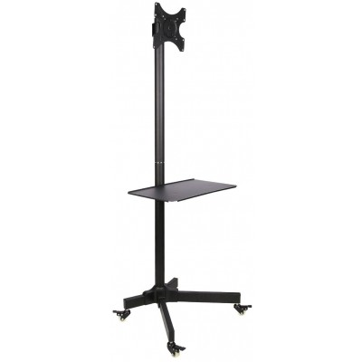 "Trolley Floor Stand LCD/LED/Plasma TV Stand 19""-37"" - Techly - ICA-TR20-1"