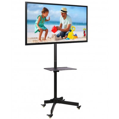 "Trolley Floor Stand LCD/LED/Plasma 23""-55"" - Techly - ICA-TR21-2"