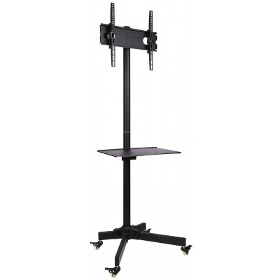 "Trolley Floor Stand LCD/LED/Plasma 23""-55"" - Techly - ICA-TR21-1"
