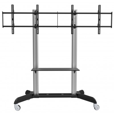 """Floor Stand for 2 LCD TVs/LEDs 32-70"""" - Techly - ICA-TR22-2"""