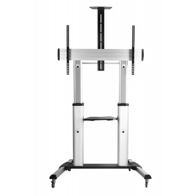 Telescopic Height Adjustable Ultra-large Display TV Cart - Techly - ICA-TR24-1