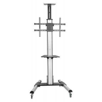 Interactive Counterbalance Aluminum TV Cart - Techly - ICA-TR25-1