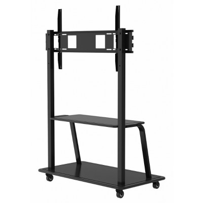 "Floor Stand for LCD/LED/Plasma TV 55-100"" with shelf - Techly - ICA-TR28-2"
