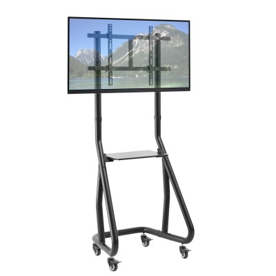 Trolley Floor Support for TV from 37'' to 80'' - Techly - ICA-TR37-1