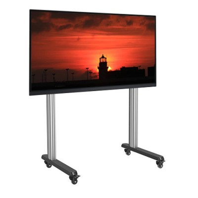 "Mobile Floor Trolley for LCD/LED/Plasma TV 70-120"" - Techly Np - ICA-TR43-1"