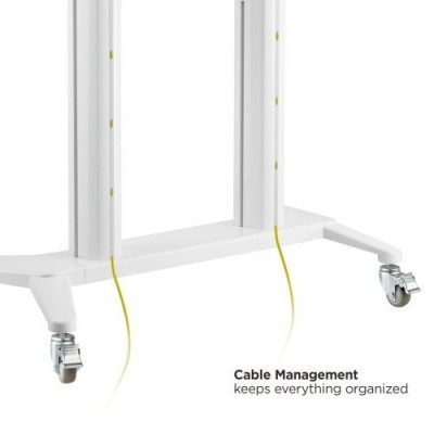 """Floor Stand for TV from 70"""" to 120"""" White - Techly - ICA-TR49W-5"""