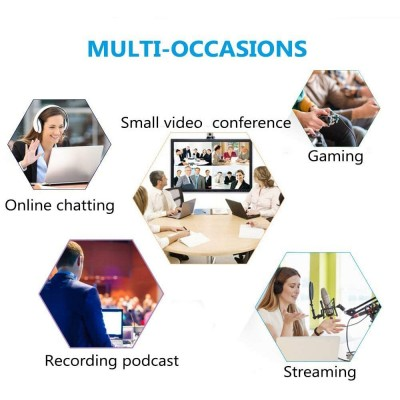Omnidirectional USB Conference Microphone - Techly - ICC SH-21-6