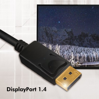 Audio/Video cable DisplayPort 8K M/M 3 m Black - Techly - ICOC DSP-A14-030NT-4