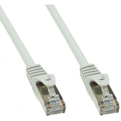 Copper Patch Cable Cat.6 Grey SFTP LSZH 1m - Techly Professional - ICOC LS6-010T-1