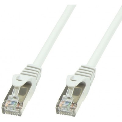 Copper Patch Cable Cat.6 White SFTP LSZH 1,5m - Techly Professional - ICOC LS6-015-WHT-1