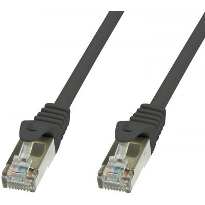 Copper Patch Cable Cat.6 Black SFTP LSZH 5m - Techly Professional - ICOC LS6-050-BKT-0
