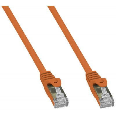 Copper Patch Network Cable Cat. 6A SFTP LSZH 2 m Orange - Techly Professional - ICOC LS6A-020-ORT-1