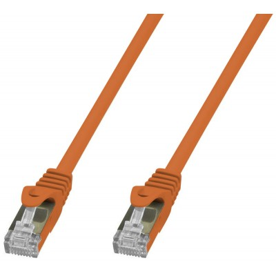 Copper Patch Network Cable Cat. 6A SFTP LSZH 2 m Orange - Techly Professional - ICOC LS6A-020-ORT-0