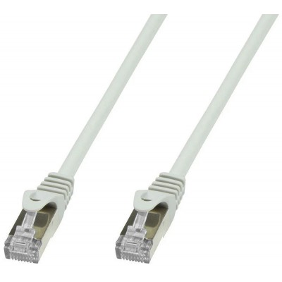 Copper Patch Network Cable Cat. 6A SFTP LSZH 5 m Gray - Techly Professional - ICOC LS6A-050-GYT-1