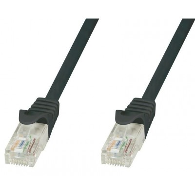 Copper Patch Cable Cat.6 UTP 3m Black - Techly Professional - ICOC U6-6U-030-BKT-0