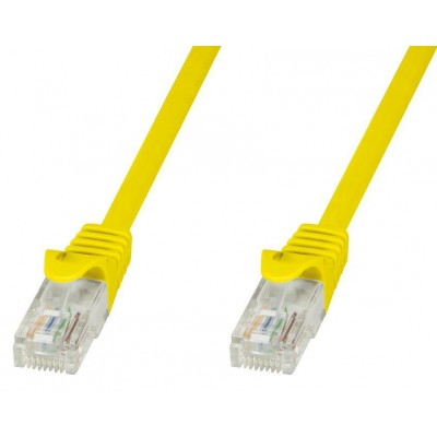 Copper Patch Cable Cat.6 UTP 5m Yellow - Techly Professional - ICOC U6-6U-050-YET-1