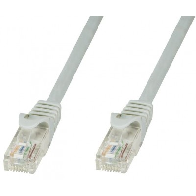 Cat.6 Copper Patch Cable Cat.6 Gray UTP 20m - Techly Professional - ICOC U6-6U-200T-1