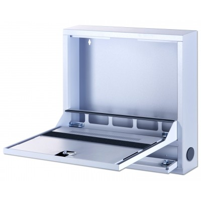 Safety Box for IWB Notebook and accessories Basic Grey - Techly Professional - ICRLIM04-2
