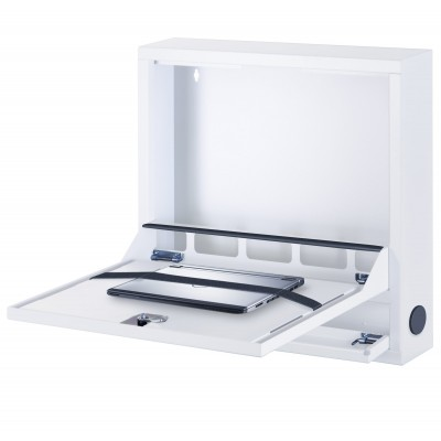 Security Box for Notebooks and Lim's accessories Basic White RAL 9016 - Techly Professional - ICRLIM04W2-1